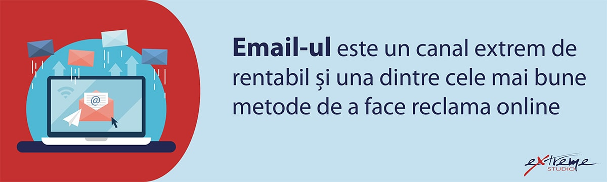 Promovare online email marketing