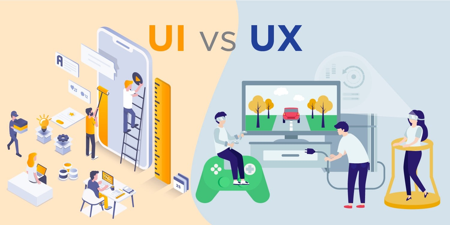 UX-design vs UI-design